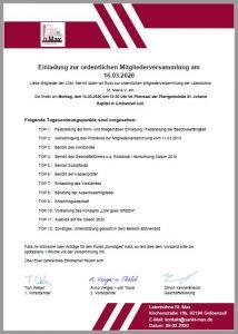 Einladung im pdf Format zum ausdrucken